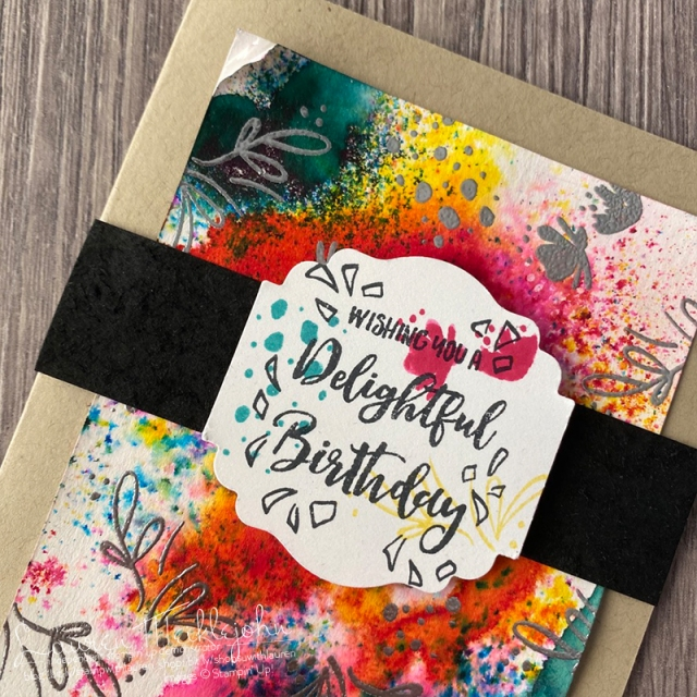 Pigment Sprinkles and Delightful Day Stamp Set - Last-Chance Products