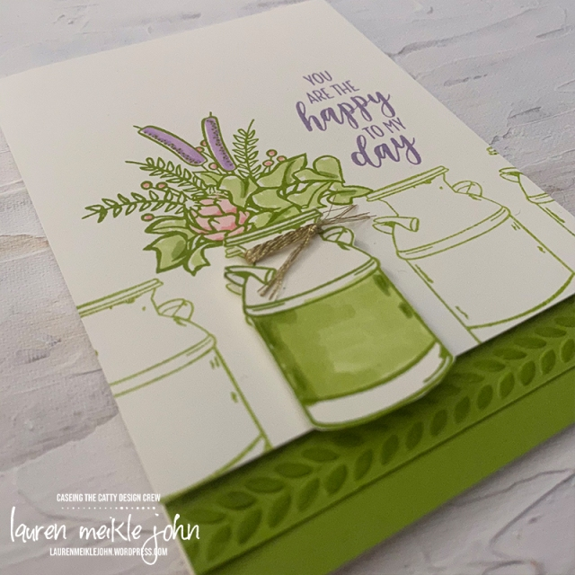 Country Home Stamp Set; Highland Heather; Granny Apple Green; Flirty Flamingo